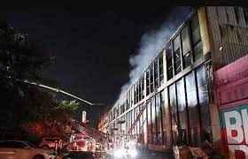 مقتل 14 شخصا في حريق مستودع في شمال شرق الصين
