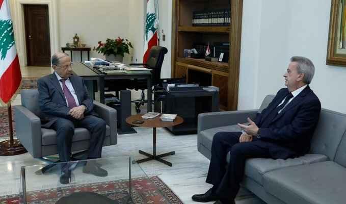 الرئيس عون اجتمع بسلامة وتقرر فتح إعتمادات بـ160 مليون دولار لشراء البنزين والمازوت