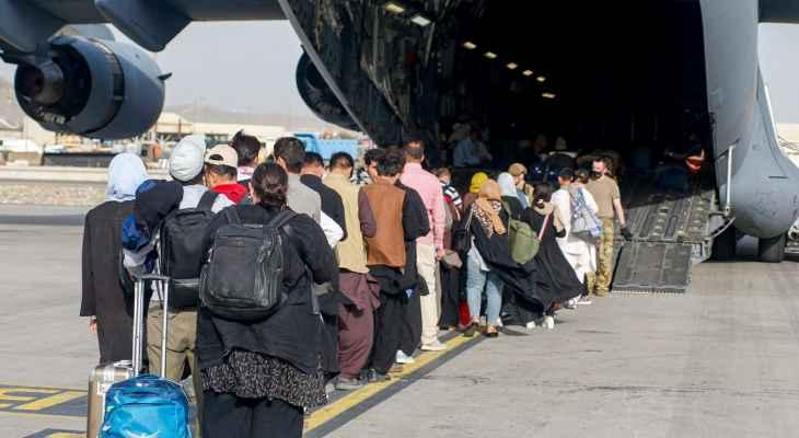 القوات الجوية الأميركية: منعنا اختطاف طائرة في مطار كابول خلال عملية الإجلاء في آب الماضي