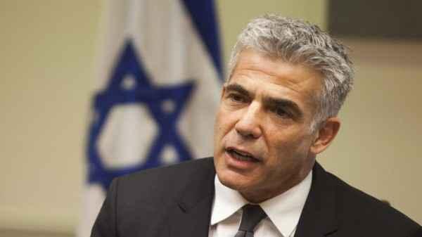لابيد: بإمكان الإمارات أداء دور بناء في تحسين الظروف لكن على الفلسطينيين أن يرغبوا في ذلك
