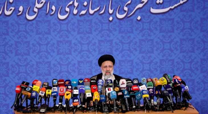 الرئيس الإيراني: سنتابع موضوع رفع العقوبات لكن لن نربط حياة الإيرانيين بإرادة الأجانب