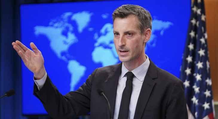 المتحدث بإسم خارجية أميركا: تصريحات سفير روسيا حول تأشيرات الدبلوماسيين غير دقيقة