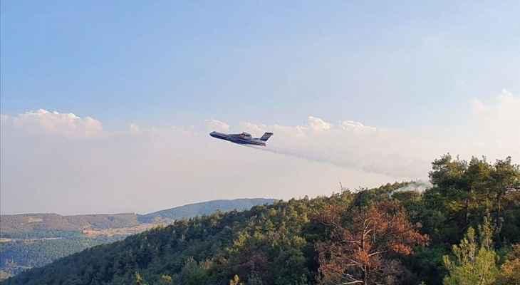 وزارة الطوارئ الروسية: سنرسل 11 مركبة جويةإلى تركيا لمساعدتها بإخماد حرائق الغابات