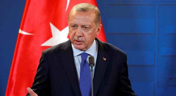 """أردوغان يعلن مناطق الحرائق جنوبي البلاد """"أراضي منكوبة"""""""
