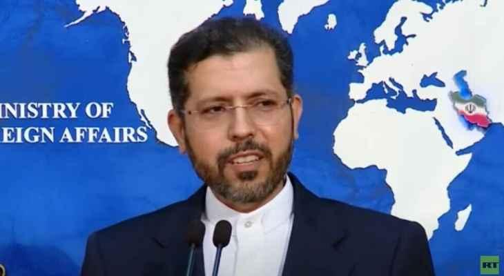 الخارجية الإيرانية: لا علاقة لنا بتفجير السفينة الإسرائيلية قبالة عمان