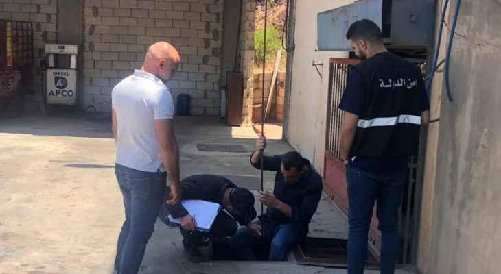 النشرة: دوريات لمديرية أمن الدولة بمكتب مرجعيونعلى محطات المحروقات بحاصبيا والمنطقة
