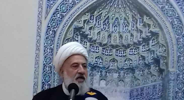 الشيخ الخطيب يعزي بضحايا مستشفى الحسين في العراق