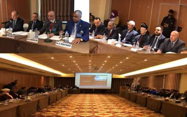 المؤتمر الدولي للشرق الأوسط يصدر توصيات بالانتهاكات بحق الشعوب العربية