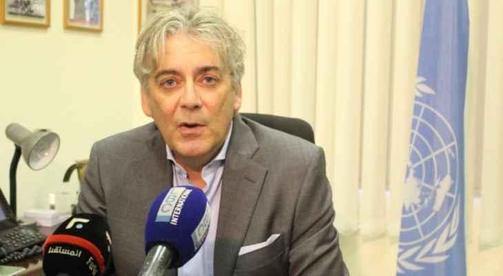 تننتي: لا اصابات بالفيروس بين جنود اليونيفيل وإجراءات قوية