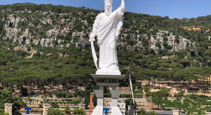 تدشين تمثال مار الياس الحي في باحة دير الكنيسة الجمعة المقبل