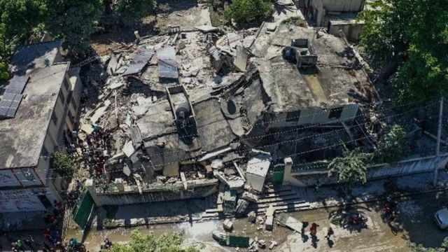 الدفاع المدني في هايتي: 2207 أشخاص على الأقل ماتوا جراء الزلزال الذي ضرب البلاد