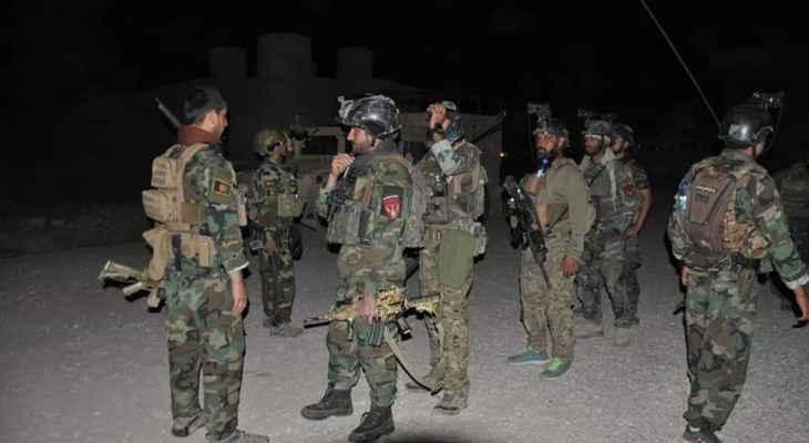 """الدفاع الأفغانية: مقتل 187 عنصرا من """"طالبان"""" وإصابة 112 آخرين خلال الـ24 ساعة الماضية"""