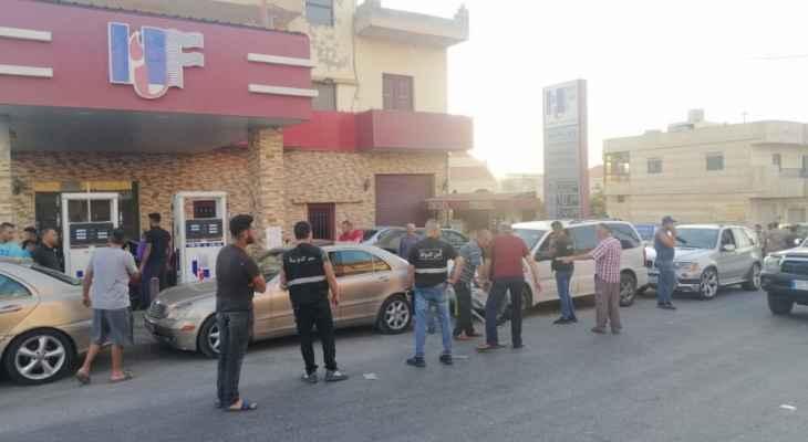 أمن الدولة: دوريات بالنبطية على محطات المحروقات وفتح المغلق منها