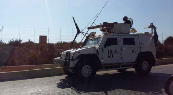 اليونيفيل تتابع حادث عبور شخصين من لبنان إلى إسرائيل وتتواصل مع الأطراف المعنية