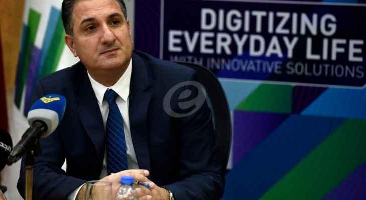 حواط: لا نية في قطع خدمة الانترنت أو الاتصال في 4 آب