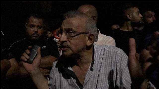 سعد شارك بالاعتصام في صيدا احتجاجا على الأوضاع الحياتية والانقطاع المتواصل للكهرباء