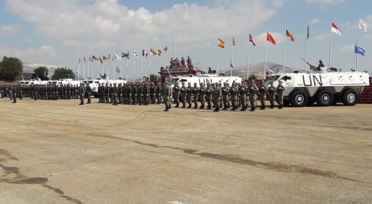 وفد من مدرسة القوات الجوية زار مقر قيادة القطاع الشرقي في اليونيفيل في ابل السقي