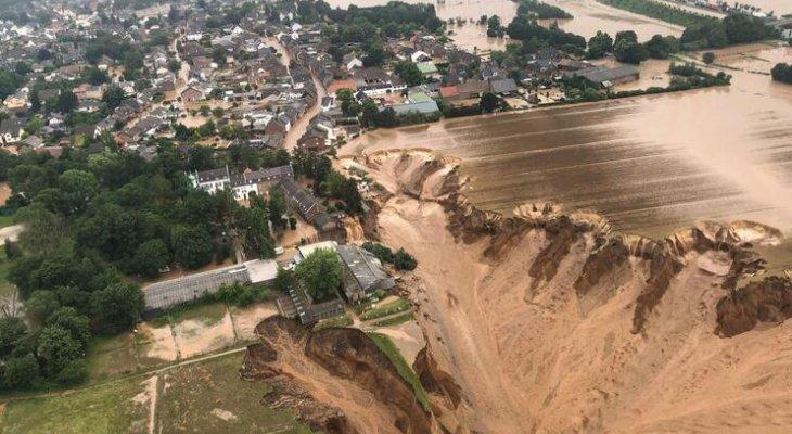 ارتفاع عدد قتلى الفيضانات في ألمانيا إلى 156 وفي أوروبا بالإجمال إلى 183
