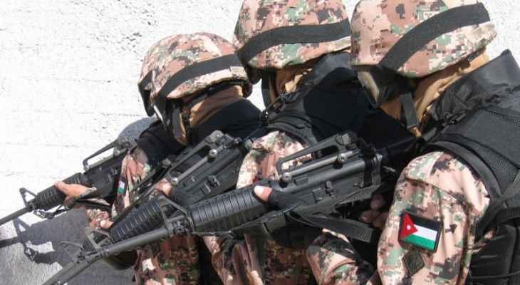 الجيش الأردني يمنع محاولة تهريب المخدرات