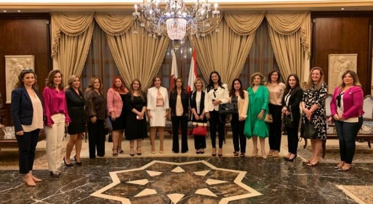 عكر التقت سفيرة لبنان في قطر: للاسراع في تأليف حكومة تنقذ لبنان