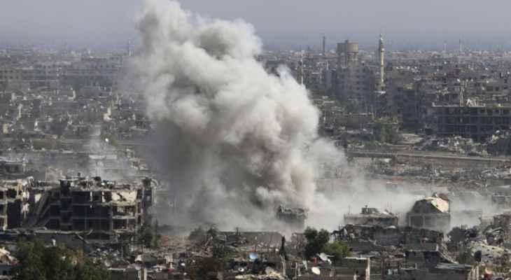 مقتل 30 مدنياً بقصف التحالف الدولي على قرية الشعفة بريف دير الزور
