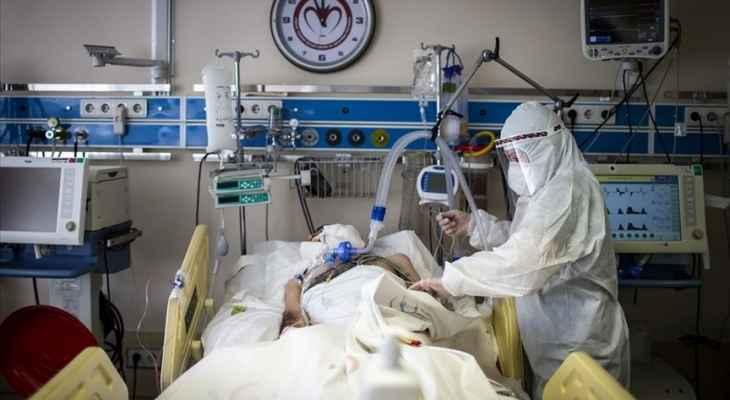 """الصحة التركية: تسجيل 63 وفاة و16809 إصابات جديدة بفيروس """"كورونا"""""""