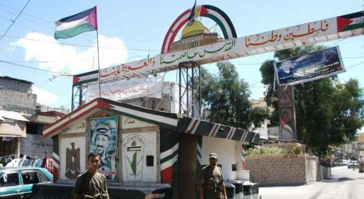 القوة الأمنية الفلسطينية سلمت أحد المطلوبين في مخيم الرشيدية الى مخابرات الجيش