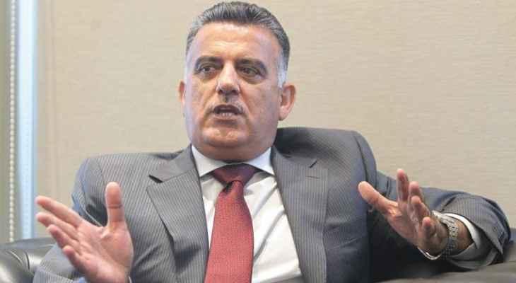 اللواء إبراهيم: سيتم غداً السبت توقيع العقد مع العراق لاستيراد مليون طن من المازوت