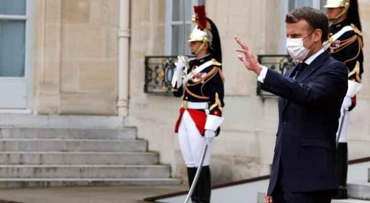 ماكرون ليس مستعجلاً العقوبات في لبنان