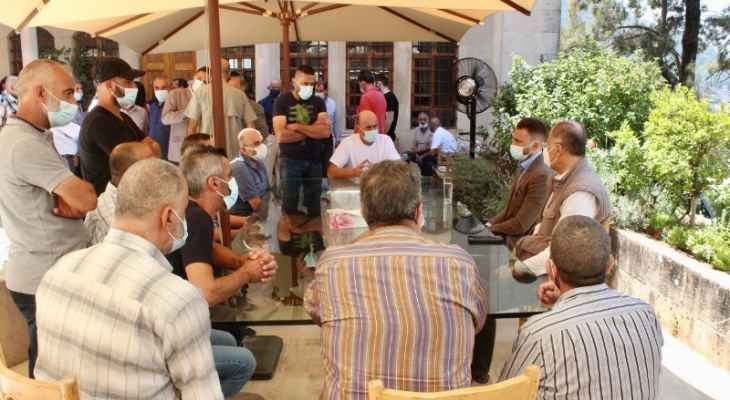 جنبلاط التقى وفدا من مستشفى سبلين الحكومي: سنستمر بالدعم والوقوف بجانب الموظفين