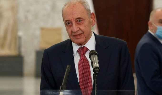 بري تلقى رسالة جوابية من رئيسي رداً على تهنئته بإنتخابه مؤخراً رئيس للجمهورية الإسلامية الايرانية