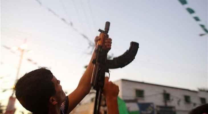 النشرة: سماع دوي إطلاق رصاص في وسط بيروت