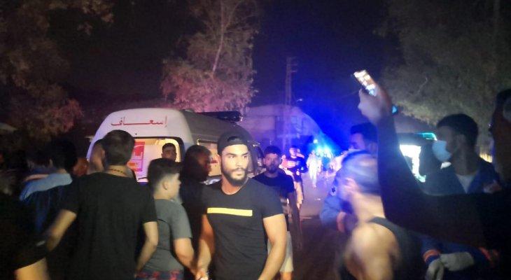 النشرة: 3 جرحى في حادث سير على طريق زوطر - النبطية الفوقا