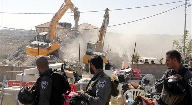 """الصليب الأحمر الدولي: هدم إسرائيل حمصة الفوقا """"يقوض الكرامة الإنسانية"""""""