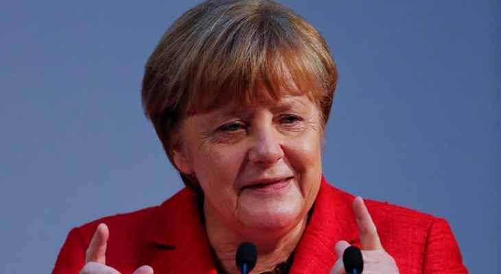 ميركل عن الفيضانات في المانيا: نحن على اتصال وثيق بالتمويل الألماني