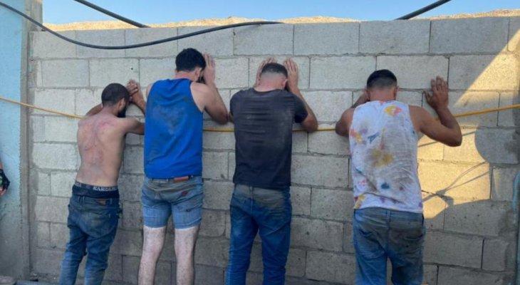 """""""حراس حلبا"""" أوقفواعصابة سرقة مؤلفة من 4 لبنانيين"""