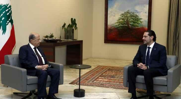 مصادر بعبدا للجمهورية:لا يجوز ان يشكّل اعتذار الحريري انتصاراً لأحد