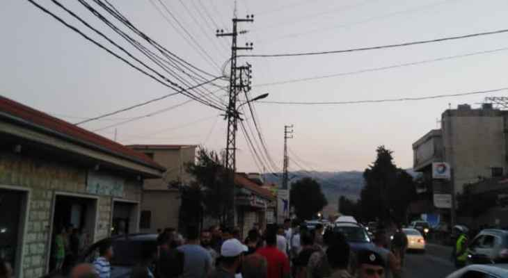 النشرة: اعتصام لأهالي المريجات احتجاجا على نفاد المازوت وانقطاع الكهرباء والمياه