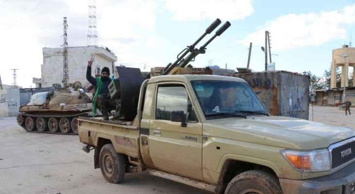 النشرة: اشتباكات عنيفة بين الجيش السوري والجماعات المسلحة بمحافظة درعا