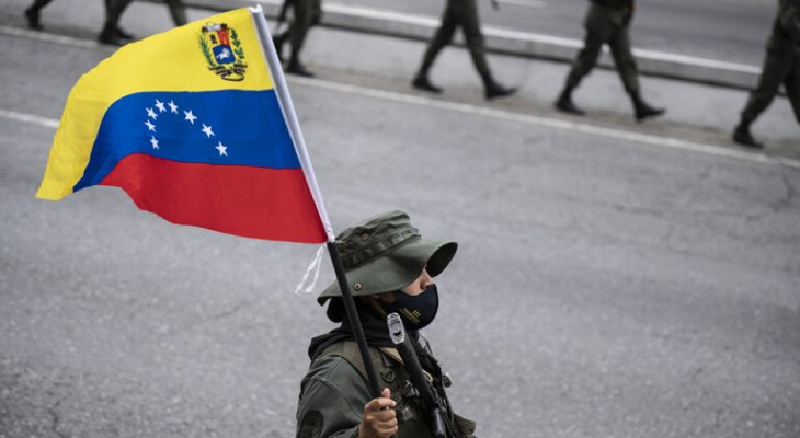 القوات المسلحة الفنزويلية: طائرة عسكرية أميركية انتهكت أجوائنا على الحدود مع كولومبيا