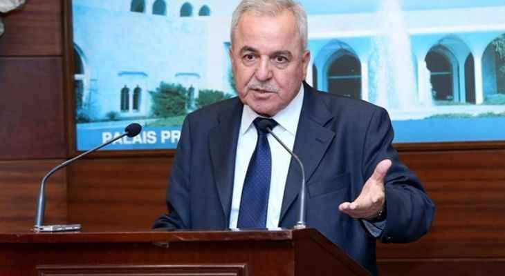 سكرية: رئيس الجمهورية هو اساس التيار الوطني الحر وهو شريك بتشكيل الحكومة