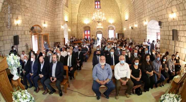 قدّاس على نية ضحايا تفجير مرفأ بيروت في جزين