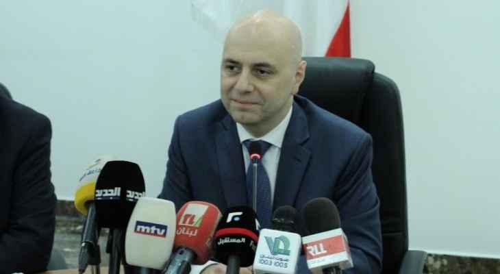 حاصباني: وزارة الصحة تعامل المواطنين بشكل متساو