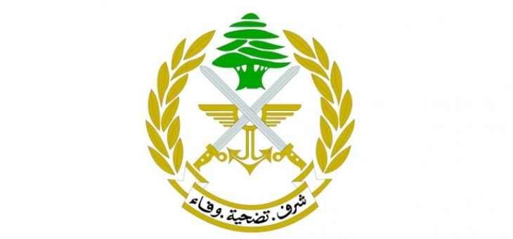 الجيش: وحدة من الجيش طوقت اشكالا وقع بين محتجين ومرافقي النواب أمام بلدية حلبا