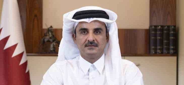 أمير قطر وجّه بتخصيص 100 مليون دولار لدعم الأمن الغذائي ودرء المجاعة في اليمن
