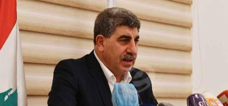 بسام طليس تابع موضوع الحرائق في جرود القبيات – الهرمل